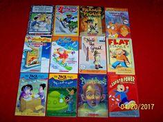 12 Lot 2nd 3rd Grade Chapter Books Beginning Readers Stanley Nate Stilton Zack