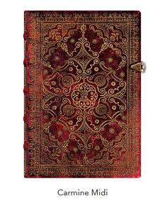 f7842cdb98c83 Notatnik Paperblanks Midi Equinoxe Carmine gładki