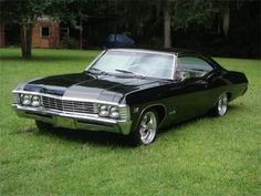 1967 Chevy Impala <3 DEAN WINCHESTER'S CAR!!