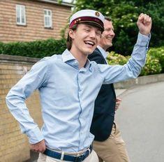 Prince Felix Of Denmark, Princess Alexandra Of Denmark, Captain Hat, Bomber Jacket, Jackets, Style, Fashion, Down Jackets, Swag