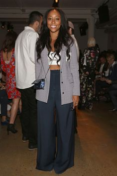 Shiona Turini Photos - Dion Lee - Front Row - Spring 2016 MADE Fashion Week - Zimbio