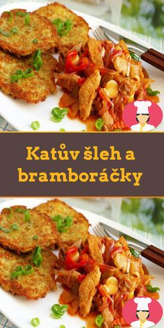 Katuv šleh a bramborácky Octopus Recipes, Tandoori Chicken, Sausage, Pork, Meat, Ethnic Recipes, Nadja, Cocktails, Top Recipes