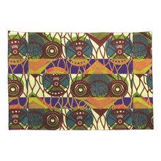 African Tribal Print Pillowcase  $41.90  by Redman4u2  - cyo customize personalize unique diy idea