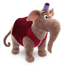 Abu as Elephant Plush - Aladdin - Medium - 13 1/2'' H