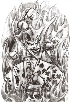 Poker tatoo