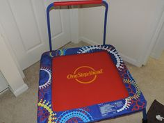 "Mail4Rosey: One Step Ahead Kids Trampoline Review and #Giveaway ""The trampoline is a great way to let the kiddos burn up some energy. It's excellent for parents in that it's light enough to easily move from room to room, and you can do whatever you need to do while the kids are jumping safely and happily on their trampoline."""