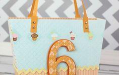 Make a Child's Birthday Gift Bag using SVGCuts Luxury Handbags