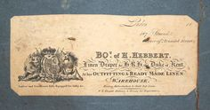 Pair of Antique Leather Campaign Trunks with labels for H Hebbert.  Moxhams Antiques.