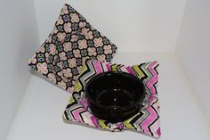 Microwave Bowl Cozy, Set of Two Large - pinned by pin4etsy.com