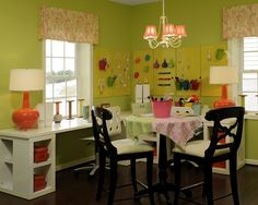 SEWING ROOM PICTUTURES | Craft Room Design, Pictures, Remodel, Decor ... | Sewing and craft ro ...