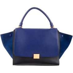 Pre-owned Celine Medium Trapeze Bag