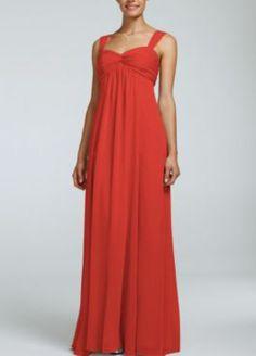 Persimmon Bridesmaid Dress