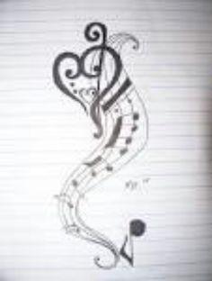 music tattoo idea