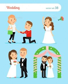 Wedding Pictures. Proposal Of Marriage