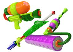Fresh gear - Splatoon™ for Wii U - Items, weapons, power-ups