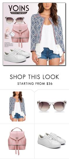 """""""YOINS.com"""" by monmondefou ❤ liked on Polyvore featuring Linda Farrow, Benefit and yoins"""