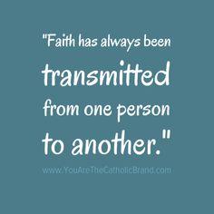 #faith has always be