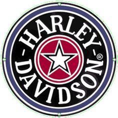 Harley-Davidson Fat Boy Gas Cap Magnetic Sign