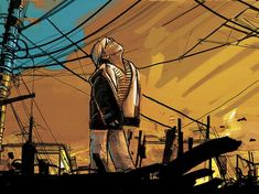 waiting at the sun - Street Art by Alice Pasquini  <3 <3