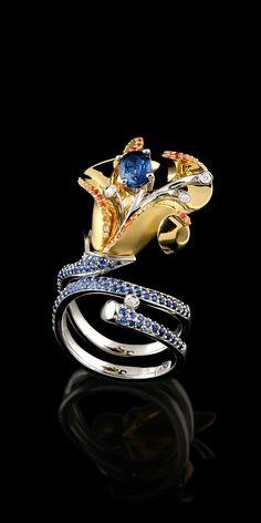 Master Exclusive Jewellery - Коллекция - Diamond flowers