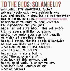 Hahaha. Nico, I think you're perfect. <3