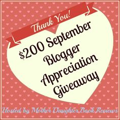 If you'd like to meet some cool children book bloggers and get a chance to win $200 all in one shot, stop by and enter this giveaway hosted by Mother-daughter Book reviews!