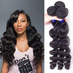 100 Unprocess Virgin Brazilian Hair Bundles 1pcLot Loose Wave Weave Brazilian Hair Weave Websites
