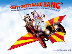 Chitty Chitty Bang Bang - One of my all time favorites.  I still watch this.  Such imagination!  The live Broadway version brought tears of awe as the car rose up out of the orchestra pit on a hydraulic arm (that was invisible!) - A must see.