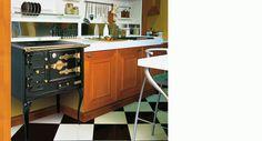 Cocina Hergom TH-6 H, se adapta a espacios pequeños decoración, disponible en Expochimeneas, Sevilla