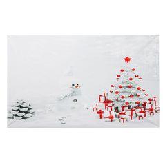 Fondo de fotografía de árbol de Navidad de 3x5FT Fondo de telón de fondo Proposición de estudio