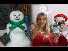 DIY Christmas crafts:  Frosty recycling for Christmas, Winter