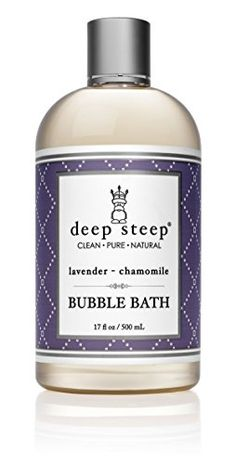 Deep Steep Bubble Bath, Lavender Chamomile, 17 Ounces Dee... https://www.amazon.com/dp/B00EPANKC6/ref=cm_sw_r_pi_dp_x_VFtHybQ8N1NYD