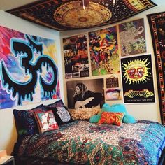 Gallery For Trippy Bedroom Decor Home Bedrooms Pinterest Tapestry And Apartments