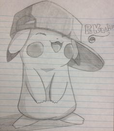 cute pikachu to draw when bored