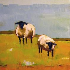 """Sheep Pair""  - Donna Walker"