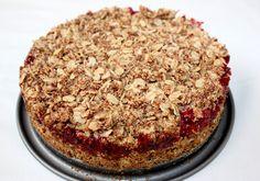 vea love green: Wegańskie chrupiące ciasto owsiane