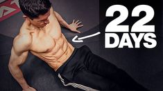 """Get a """"6 Pack"""" in 22 Days! (HOME AB WORKOUT) - YouTube Bodyweight Workout Program, Best Ab Workout, Abs Workout Routines, Ab Workout At Home, Workout Programs, At Home Workouts, Best Dumbbell Exercises, Best Abdominal Exercises, Dumbbell Workout"""