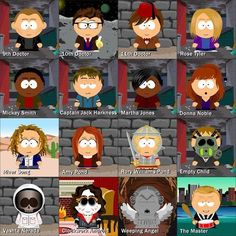 Doctor Who, South Park Style