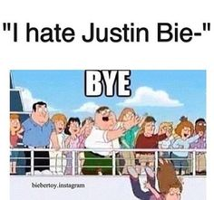 We beliebers.........(I don't even need to say this)