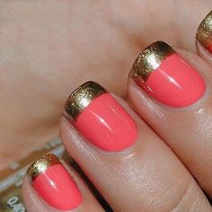 I would do this with a nude and gold