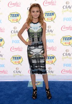 G. Hannelius || Must-See Pics From the 2014 Teen Choice Awards | Twist