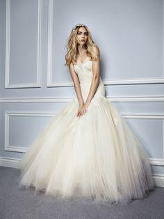 Monique Lhuillier 2015 Bridal Ad Campaign. Shot by Jason Kim / featuring Heidi Mount