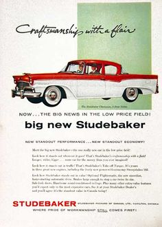 1956 Studebaker Champion Two Door Sedan