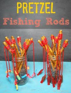 Pretzel Fishing Rods - The TipToe Fairy