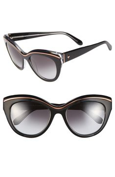 9ddb8f3eac4 Free shipping and returns on kate spade new york 54mm cat eye sunglasses at  Nordstrom.