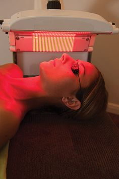 LED works on a cellular level to initiate various processes that produce desired effects on the appearance of the skin, and many of the same processes are believed to contribute to overall health. Amy Gardner explains more. Tanning Booth, Red Light Therapy, Cellular Level, Look Younger, What's Trending, Pretty Face, Hair Beauty, Shadows, Instagram