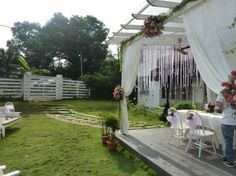 View of the Garden  ~ By: Elegant Scent http://www.wedding.com.my/category-florist-and-decorations/7