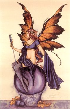 Amy Brown Faery Looking Glass