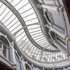 Victorian era Morgan Arcade Cardiff. #ukcoastwalk Photo: Quintin Lake www.theperimeter.uk