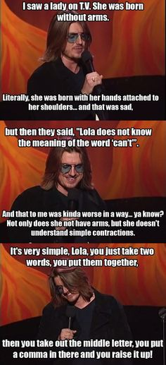 I miss Mitch Hedberg…